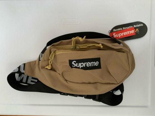 Supreme Waist Bag Tan Color - NEW
