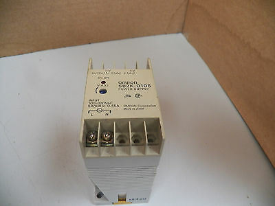 Omron Power Supply S82k-0105 100-120 Vac 60hz 0.45a 0.45 A Amp
