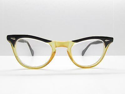 American Optical Cat Eye Keyhole Eyeglasses Eyewear FRAMES 42-22-135 TV5 (Optical Keyhole)