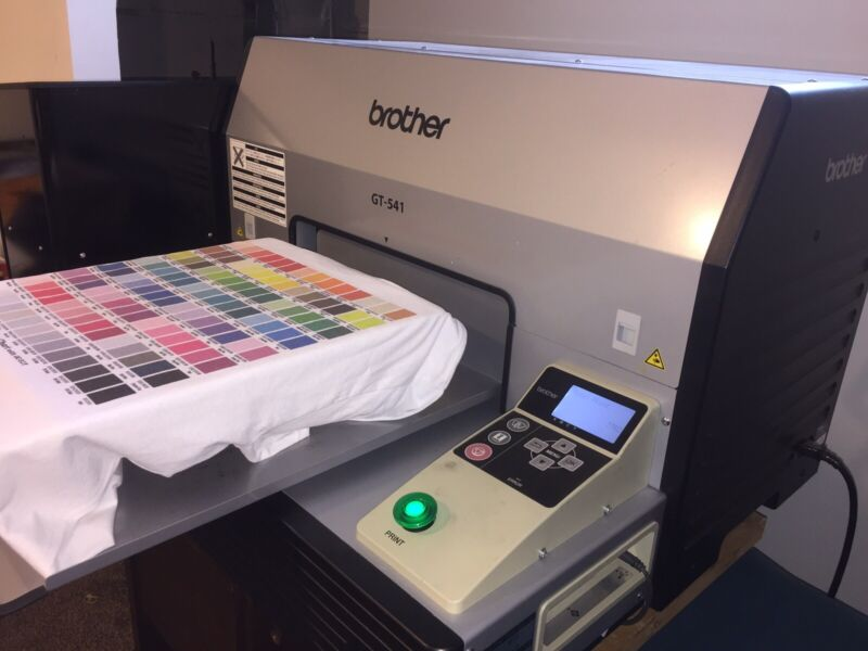 Brother GT-541 (NEW 500ML Ink All 4 Colors) DTG Printer