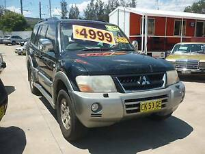 2003 Mitsubishi Pajero EXCEED AUT 4WD 7 SEATER, THIS WEEK SPECIAL Harris Park Parramatta Area Preview