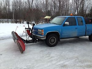1992 Chevy plow truck