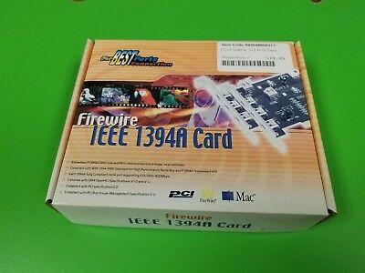 PCI Firewire IEEE 1394A (3+1) Port Card, Best Ports
