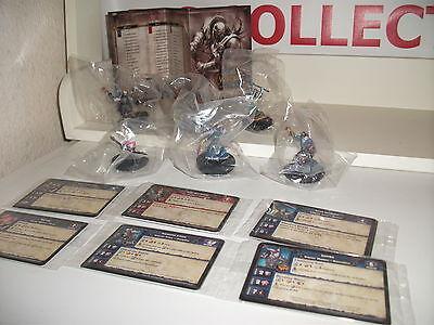 World of Warcraft job lot bundle x6 figurines spolis of war.PARVINK ANCHORITE