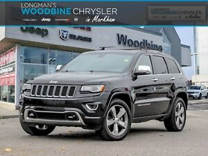 2014 Jeep Grand Cherokee Overland Diesel/Navigation/Pano Sunroof