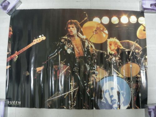 Queen+-+1970s+Japan+Warner+Pioneer+Orig+Promo+Poster+84+x+56+Freddie+Mercury