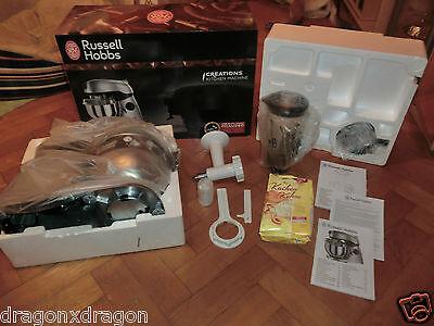 Russell Hobbs Creations Küchenmaschine, OVP&NEU, inkl. Pasta-Maker, 2J. Garantie