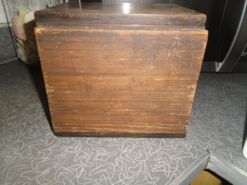 VINTAGE (THE COLIN B. KENNEDY CO)  TUBE RADIO WOOD BOX ONLY