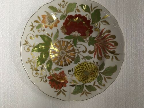 Royal Crown Derby Indian Summer Dessert Plate NEW