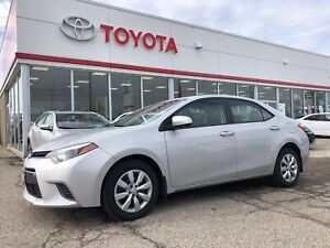 2015 Toyota Corolla LE, Off Lease, ONLY 41541 Km's, BU Camera