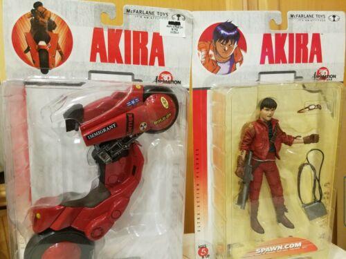 Akira Kaneda + Bike Mcfarlane Toys 3D Animation Japan Motorcycle Figure Sealed