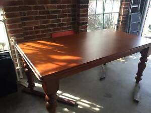 Timber Dining Table & 6 Chairs Barden Ridge Sutherland Area Preview