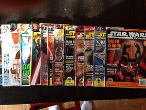 Big Lot of 13 Star Wars Insider Magazine Back Issues