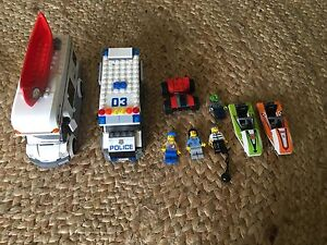Lego RV POLICE TRUCK JET SKIS Bonogin Gold Coast South Preview