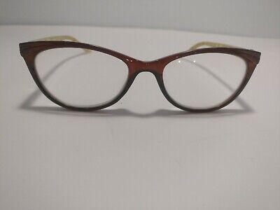 Lulu Guinness Women's Eyeglass FRAMES  Brown Cheetah  51-17-135 (Lulu Frames)