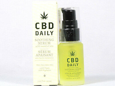 CBD Daily Soothing Serum .67oz 20ml w/ Essential Oils  for sale  Shipping to India