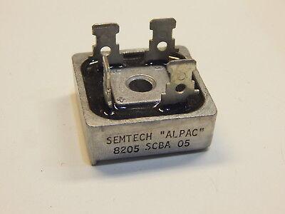 Semtech Alpac Scba-05 Metal Case Full Wave Bridge Rectifier
