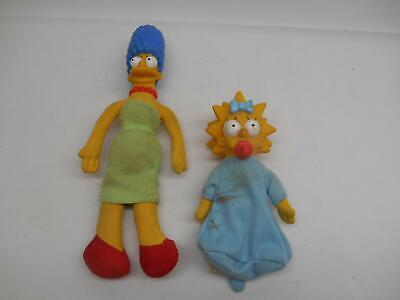 Old 1990 THE SIMPSONS MARGE BABY LISA STUFFED PLUSH ANIMALS TV CHARACTERS](Baby Tv Characters)