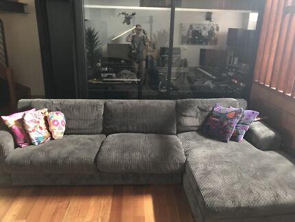 Super Comfy Magnum Modular Sofa! Charcoal Grey