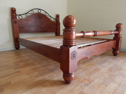 Solid wooden queen bed frame SYDNEY DELIVERY & ASSEMBLY AVAILA
