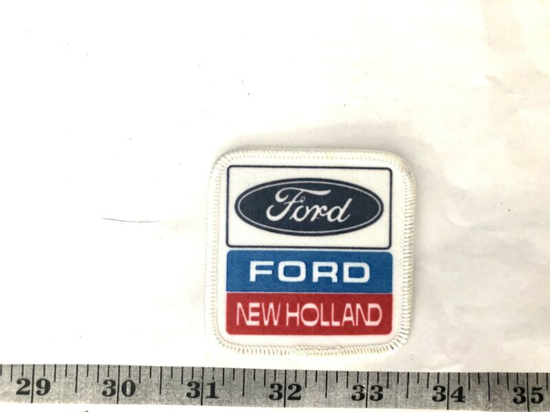 Vintage Ford Ford Holland Edge Embroidered Iron-On Patch-Nice!
