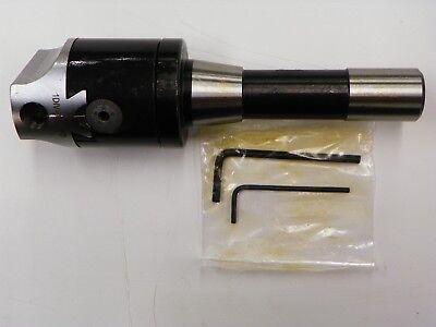 2 Precision Adjustable Boring Head With R8 Shank  B789