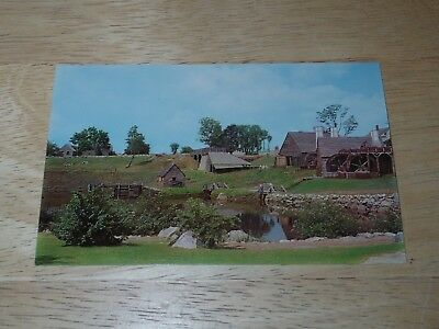 สำหรับขาย Saugus Ironworks Restoration South Side Saugus, Massachusetts Postcard Unposted