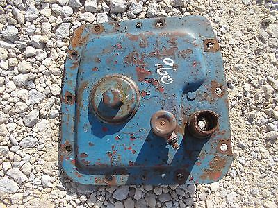 Ford 960 Tractor Original Transmission Cover Panel Starter Button Oil Plug