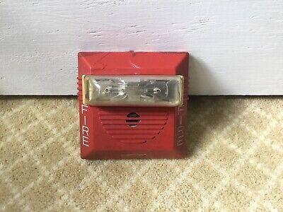 Rare Gamewell 72028 Cooper Wheelock Ns Fire Alarm Horn Strobe 24vdc