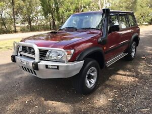 1998 Nissan Patrol St (4x4) 5 Sp Manual 4x4 4d Wagon