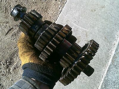 Oliver 77 Rowcrop Tractor Transmission Main Mid Range Drive Gears Drive Shaft