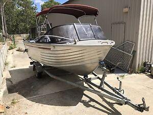 Ally Craft - 445 Weekender - aluminium fishing boat Camira Ipswich City Preview
