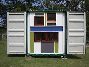 TINY HOUSE SHIPPING CONTAINER Capalaba Brisbane South East Preview