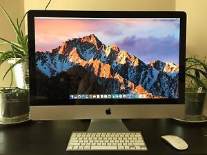 iMac 27 inch screen, mid 2011, i5, excellent condition