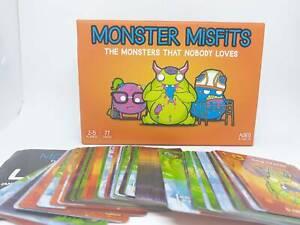 Monster Misfits card game