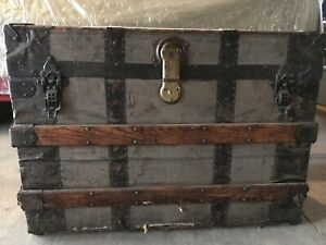 For Sale: Vintage Steamer Trunk