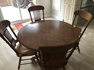 Dining room set and  kitchen table set