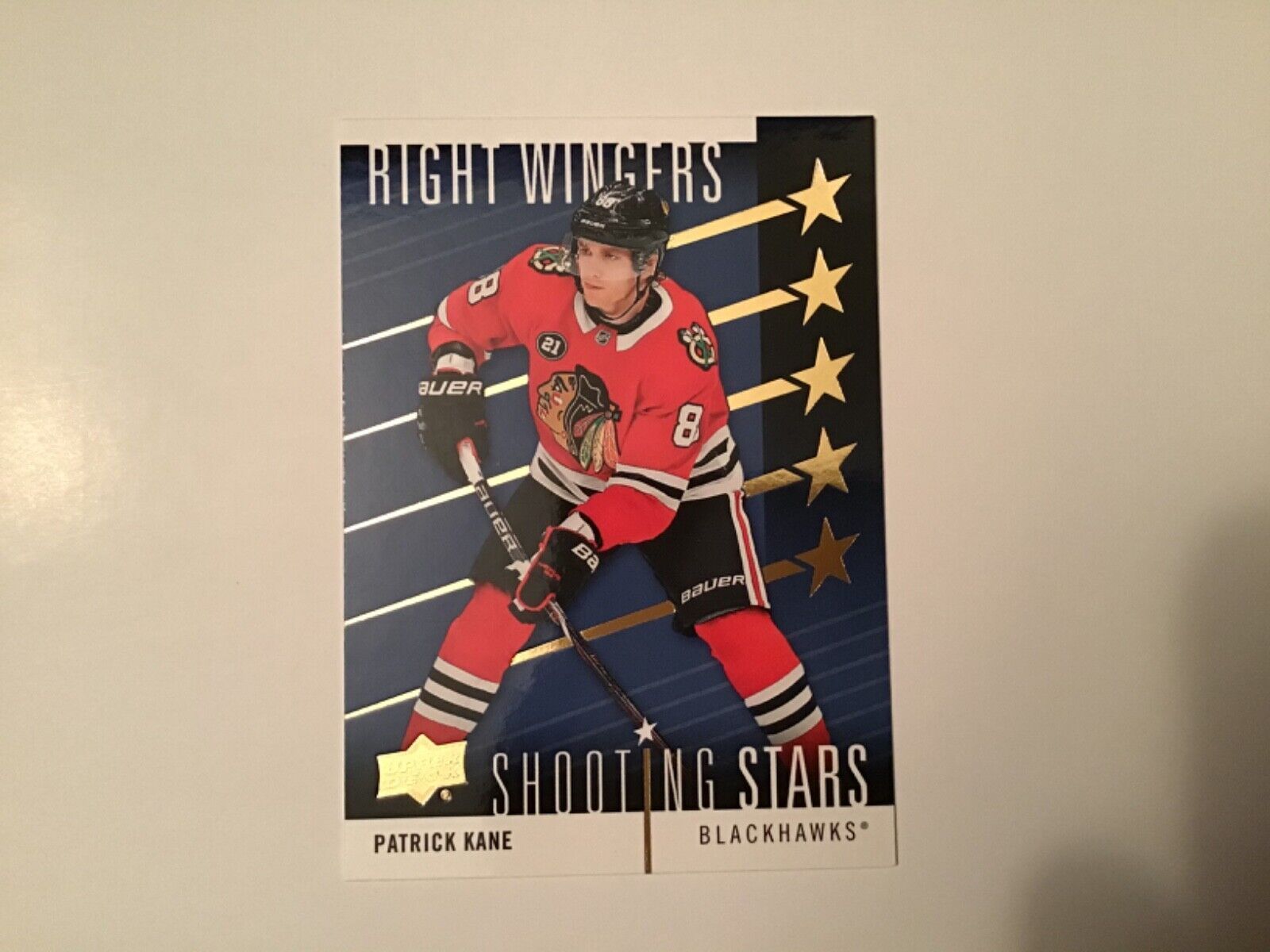 2019-20 Upper Deck Shooting Stars Right Wingers Patrick Kane SSR-1 Blackhawks - $2.95