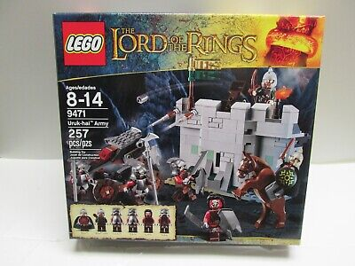 Lord Rings LEGO 9471 URUK-HAI ARMY Eomer Rohan Soldier Minifigure helm deep lotr