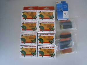 CANNON INK CARTRIDGES FOR IP4200+ CC-8Y/8M/8C/8BK PGI-5 Wallaroo Copper Coast Preview