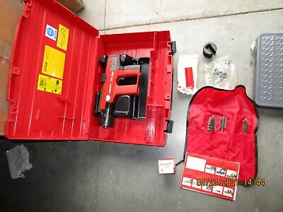 Genuine Hilti Dx451 38 Powder Actuated Fastening Nail Gun Kit Mint 1016