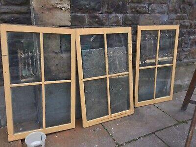 Three Vintage Windows