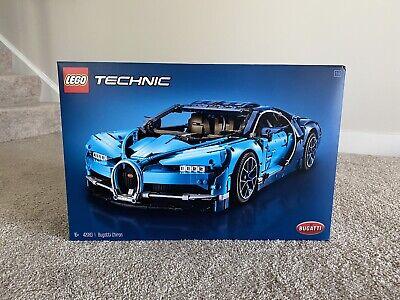 LEGO Bugatti Chiron Technic (42083) Sports Car Building Toy for Kids
