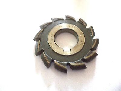 Halbrund Profilfräser  HSS   R=3,5  mm   Ø= 63 mm    von Lenzen   C4282