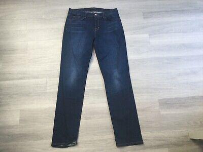 Hardly worn dark denim J Brand straight leg women's jeans size 30