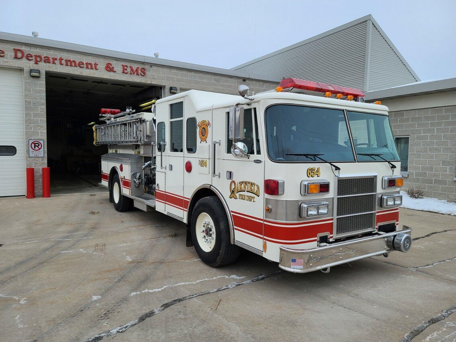 1994 Pierce Lance 1250/750 4-Door Engine Pumper Fire Truck