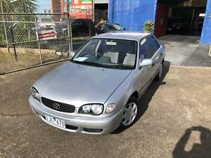 2000 Toyota Corolla ASCENT Automatic RWC Included ONLY 116,700 KLM's Epping Whittlesea Area Preview