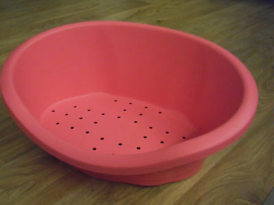 Dog Bed Dog Basket Plastic Hundeschale SIZE S Bed 50 CM Pink