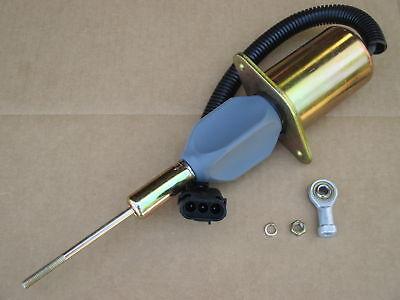 Fuel Shutoff Solenoid For John Deere Jd Relay 2258 Combine 4560 4760 4955 4960