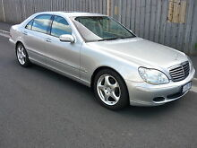 2004 Mercedes-Benz S500 LWB Sedan North Hobart Hobart City Preview